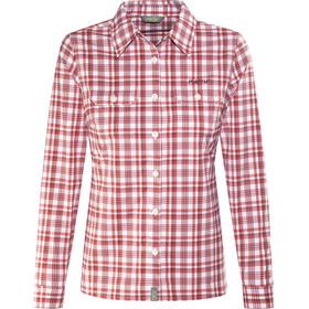 Meru Bayonne - T-shirt manches longues Femme - rouge